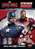 Captain America: Civil War Sticker Book