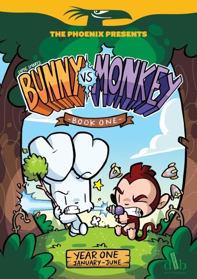 BUNNY VS MONKEY BOOK 1