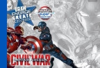 Marvel: Captain America: Civil War: Draw Engage Create Sketchbook
