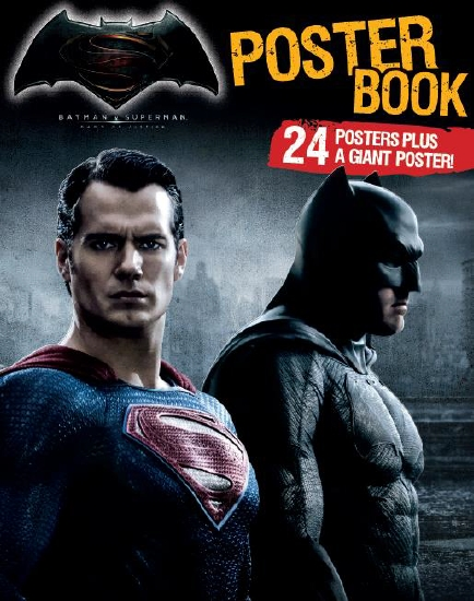 Batman Vs Superman Dawn Of Justice Poster Book