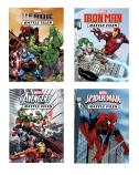 Marvel Battle Files Paperback 4 Book Pack