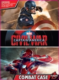 CAPTAIN AMERICA 3 ACTIVITY TIN