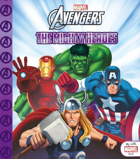My Little Marvel Book: Avengers: The Mighty Heroes                                                   - Book
