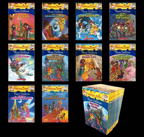 Thea Stilton 1 10 Boxed Set