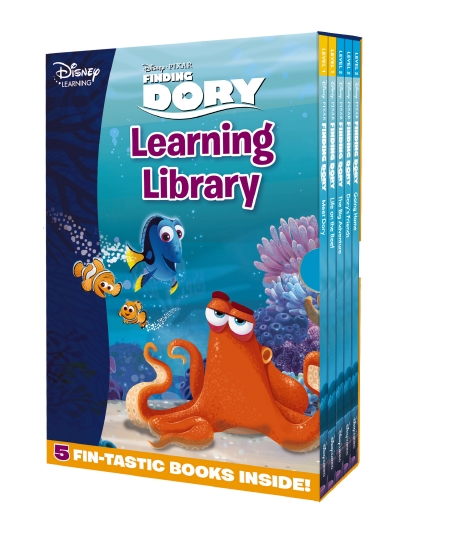 FINDING DORY LEARNING LIBR 5HB