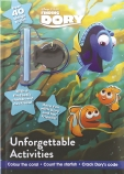 Finding Dory Activity Book with Covermount