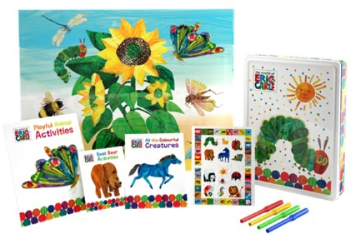 0632b7cde Product: WORLD OF ERIC CARLE HAPPY TIN - Book - School Essentials
