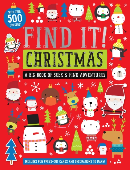 FIND IT! CHRISTMAS ACTIVITY BK