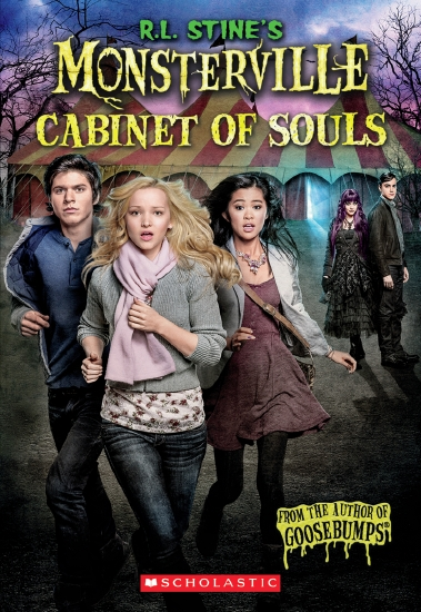 R L Stine's Monsterville: #1 The Cabinet of Souls                                                    - Book
