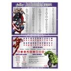 Marvel: Avengers 100 Essential Words Desk Mat