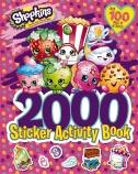 Shopkins 2000 Sticker Activity Book