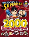 Superman 2000 Sticker Activity Book