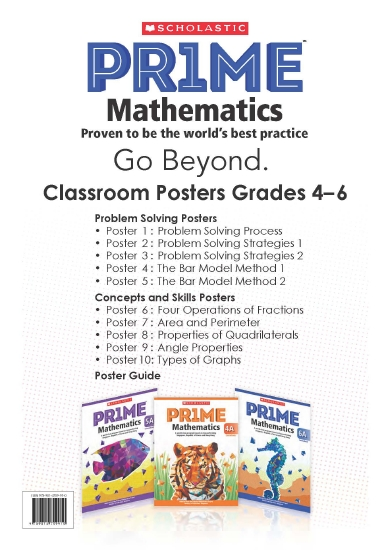 e91785309 Product: PR1ME Mathematics Posters Set 2 (Grade 4, 5 and 6 ...