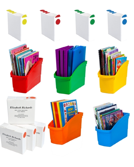 Starter Pack - Book Tubs and Book Dots Set                                                           - Pack