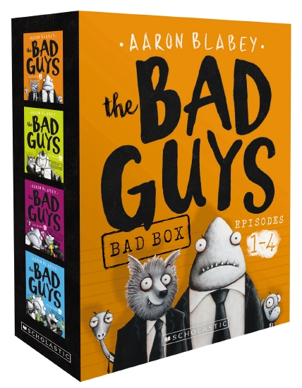 the store the bad guys bad box book. Black Bedroom Furniture Sets. Home Design Ideas