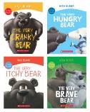 CRANKY BEAR READER 4-PK