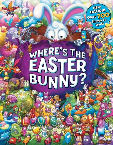 Where's the Easter Bunny? New 2017 Edition