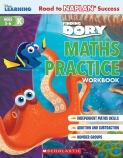 Disney Learning: Finding Dory Maths Practice Workbook Level K