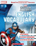 Marvel Workbook: Captain America Level 1 English Vocabulary