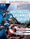 Marvel: Captain America Writing and Grammar Skills Workbook Level 1