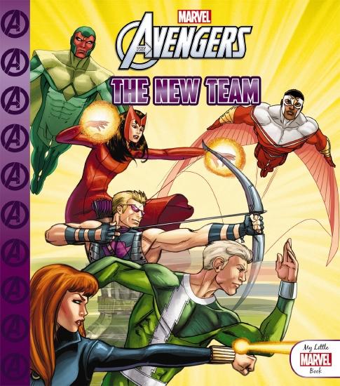 My Little Marvel Book: Avengers The New Team - Book