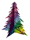 SCRATCH CHRISTMAS TREES (20)
