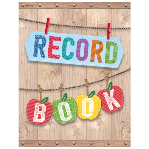 product record book teacher resource school essentials