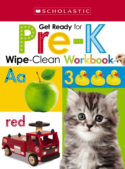 Wipe Clean Workbook Get Ready for Preschool