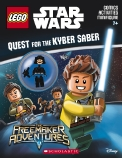 LEGO Star Wars: Quest for the Kyber Saber Activity Book with Minifigure