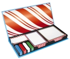 Candy Cane Sticky Notes