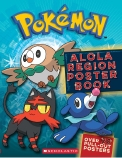 Pokemon Alola Region Poster Book