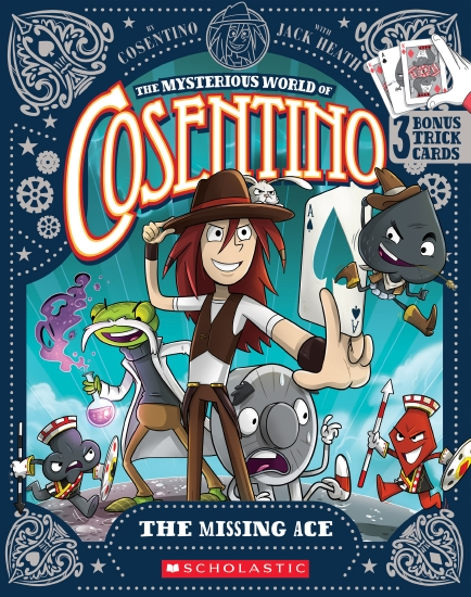 Mysterious World of Consentino #1: Missing Ace+Playing Cards