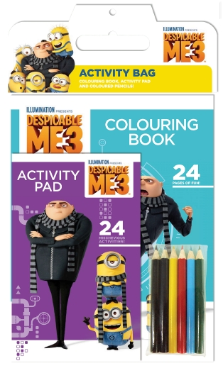 Despicable Me 3 Activity Bag