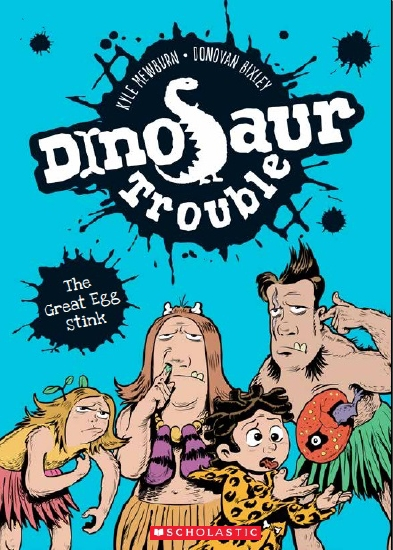 Dinosaur Trouble: #1 The Great Egg Stink