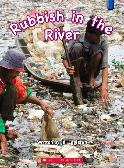 Key Links Blue 23: Rubbish in the River - Book