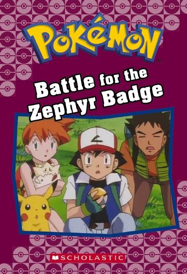 Image result for pokemon battle for the zephyr badge book