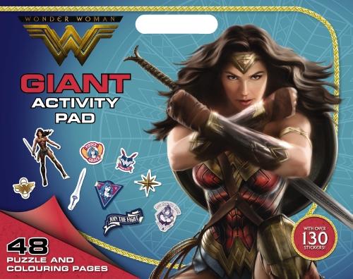 DC Comics: Wonder Woman Giant Activity Pad