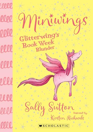 GLITTERWINGS BOOKWEEK BLUND #1