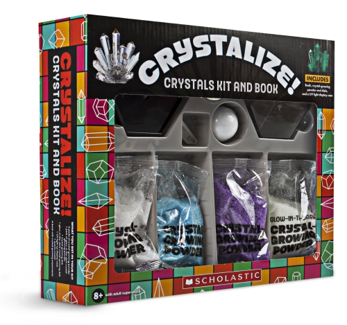 Crystalize! Crystal Kit and Book