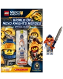 World of Nexo Knights Heroes Official Guide + Figurine