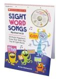 Sight Word Songs Flipchart + CD