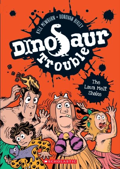 Dinosaur Trouble #2:  Lava Melt Shake