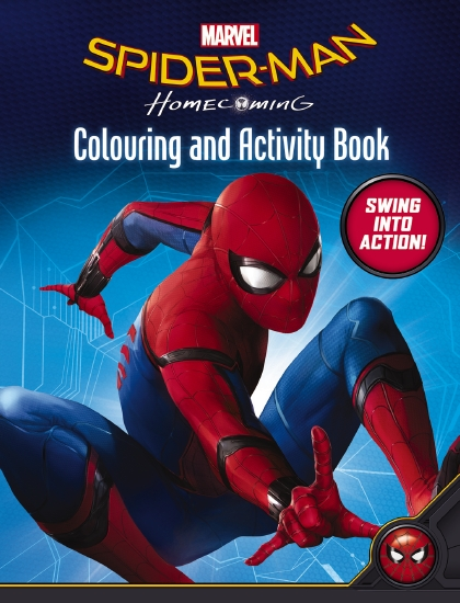 The Store Spiderman Homecoming C Amp A Book The Store
