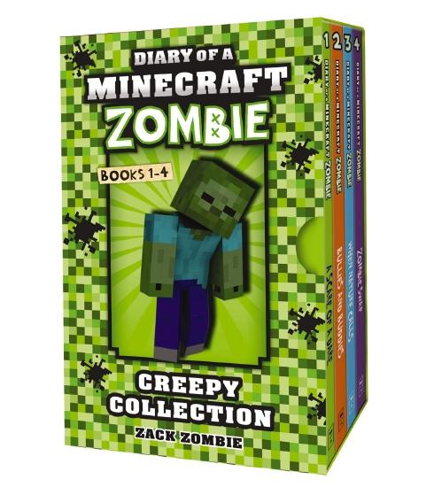 Minecraft Zombie Creepy Collection #1-4