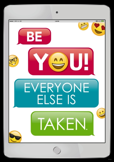 Be You! Poster                                                                                       - Teacher Resource