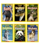 National Geographic Animal Reader 6-Pack