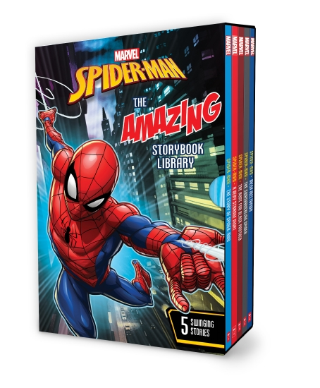 Marvel Spiderman: The Amazing Storybook Library