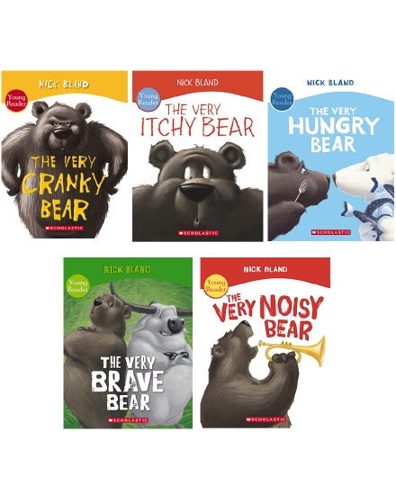 Very Cranky Bear Young Reader Shrinkwrapped Set