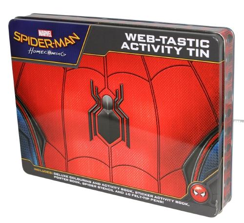 Marvel: Spider-Man Homecoming: Web-tastic Activity Tin