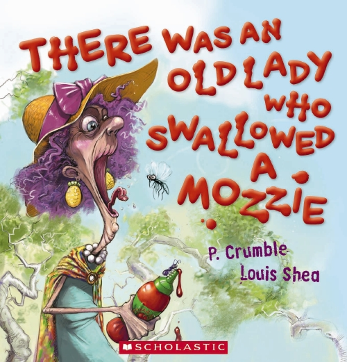 There was an Old Lady Who Swallowed a Mozzie